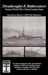 Dreadnoughts & Battlecruisers - Introductory Rules for 1/3000 Scale Miniatures