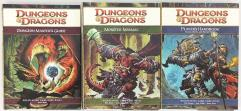 Dungeons & Dragons 4th Edition Core Rulebooks Collection - 3 Books!