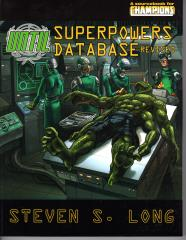 UNTIL - Superpowers Database (Revised Edition)