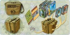 Campaign Bag w/Breakthrough to Gembloux Scenario & Map