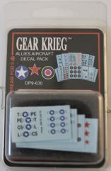 Allies Aircraft Decal Pack