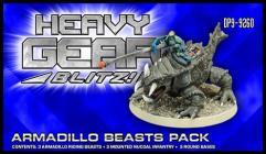 Armadillo Beast w/Rider Squad Pack