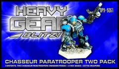 Chasseur Paratrooper Two Pack