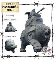 Dwarf Panzerbar Mk. I - Armored-Warbeast