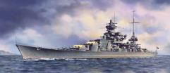 German Battleship Scharnhorst 1941