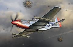 P-51K Mustang w/4.5 Inch M10 Rocket Launcher