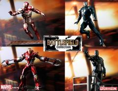 Iron Man 3 Battlefield Collection #1 Model Kit Set