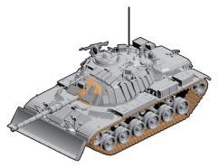 IDF M60 w/Dozer Battle