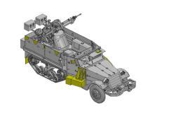 IDF M3 Halftrack w/TCM-20 Anti-Aircraft Gun - Smart Kit