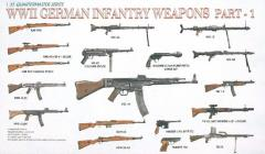 WWII German Infantry Weapons Set #1