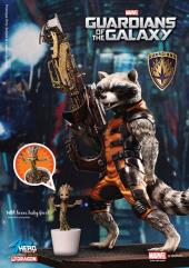 Guardians of the Galaxy - Rocket Raccoon with Baby Groot