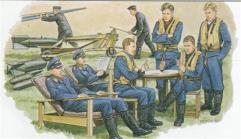 """Luftwaffe Day Fighter """"Battle of Britain"""" Ground Crew & Equipment Set"""