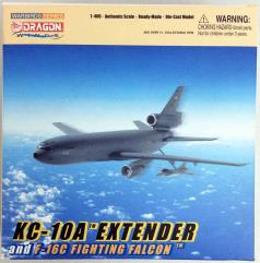 KC-10A Extender & F-16C Fighting Falcon