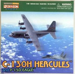 C-130H Hercules & F-15D Eagle