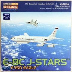 E-8C J-Stars & F-15D Eagle
