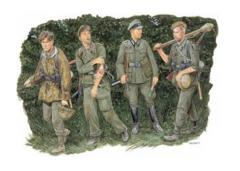 German Infantry - Battle of the Hedgerows 1944