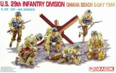 U.S. 29th Infantry Division - Omaha Beach, D-Day 1944