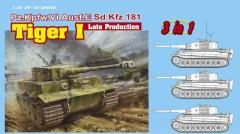 Pz.Kpfw.VI Tiger I - Late Production (3 in 1)