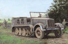 Sd.Kfz.7 8t Half Track - Initial Production (Smart Kit)