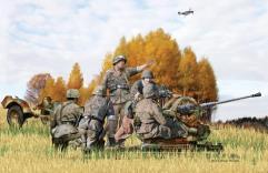 2cm FlaK 38 mit Sd.Ah.51 - Late Production