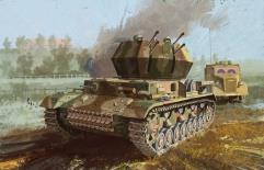 "Flakpanzer IV Ausf.G ""Wirbelwind"" w/Zimmerit - Early Production"