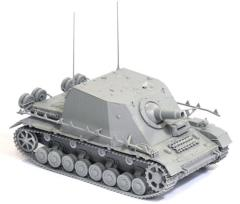 "Sd.Kfz.166 Stu.Pz IV ""Brummbar w/Zimmerit - Early Production"
