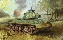 "T34/76 Mod. 1943 ""Formochka"" w/Commander's Cupola (Smart Kit)"
