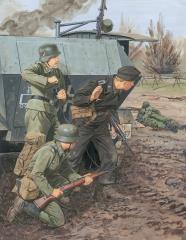 Panzer-Pionier-Bataillon 37 1.Panzer-Divison - Leningrad 1941