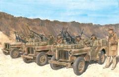 SAS Vehicle Crews - North Africa 1942