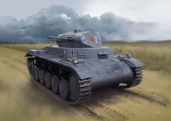 Pz.Kpfw.II Ausf.A w/Interior (Smart Kit)