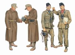DAK Panzer & Artillery Crew - Libya 1941