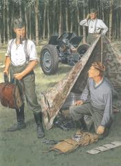 German Wehrmacht Bivouac