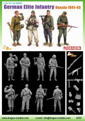 German Elite Infantry - Russia 1941-43