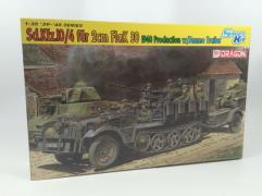 Sd.Kfz. 10/4 fur 2cm FlaK 30 w/Ammo Trailer - 1940 Production