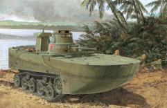 "IJN Type 2 ""Ka-Mi"" Amphibious Tank w/Floating Pontoons"