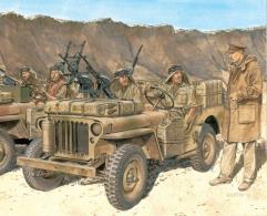 SAS 1/4 Ton 4x4 Patrol Commander's Car (Smart Kit)