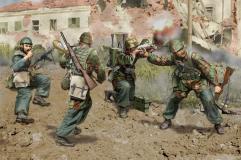 Italian Paratroopers - Anzio 1944