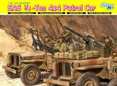SAS 1/4 Ton 4x4 Patrol Car