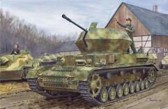 "3.7cm FlaK 43 Flaakpanzer IV ""Ostwind"" w/Zimmerit"