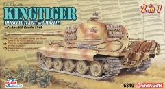Sd.Kfz.182 Kingtiger Henschel Production w/Zimmerit s.Pz.Abt.505 - Russia 1944