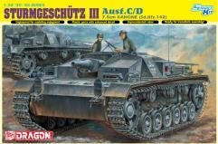 Sturmgeschutz III Ausf.C/D w/7.5cm Kanone (Sd.Kfz.142) - Smart Kit