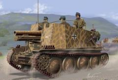 Sd.Kfz.138/1 Geschutzwagen 38 H fur s.IG.33/1 Initial Production