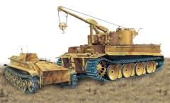 Bergepanzer Tiger I s.Pz.Abt.508 Demolition Charge Lay