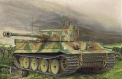 Tiger I Tiki Das Reich Division - Early Production