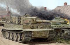 Tiger I Mid - Production w/Zimmerit Otto Carius (Battle of Malinava Village 1944)