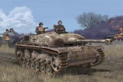 Concrete Armored StuG.III Ausf.G w/Zimmerit