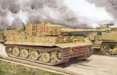 Tiger I Late Production w/Zimmerit (Normandy 1944)