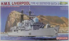 H.M.S. Liverpool Type 42 Destroyer Batch 2