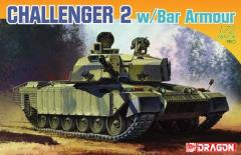 British Challenger 2 w/Bar Armor
