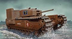 Churchill Mk.III w/Deep Wading Kit - Operation Jubilee, Dieppe, France 1942